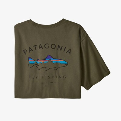 Patagonia Framed Fitz Roy Trout Organic T-Shirt