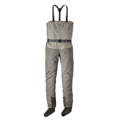 Patagonia Middle Fork Packable Breathable Chest Waders Reg - Stockingfoot Hex Grey