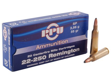 Prvi Patrizan PPU 22-250 Rem Soft Point 50 Gr (20 box)