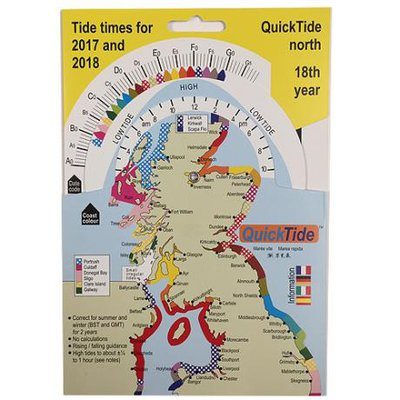 QT International QuickTide Charts