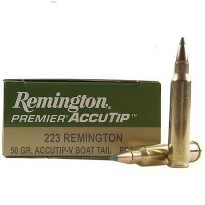 Remington .223 55gr AccuTip-V Boat Tail