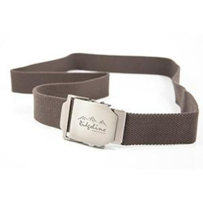 Ridgeline Brown Webbing Belt 130cm