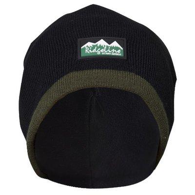 Ridgeline Olive Fleece Lined Beanie 0b6af34241d3