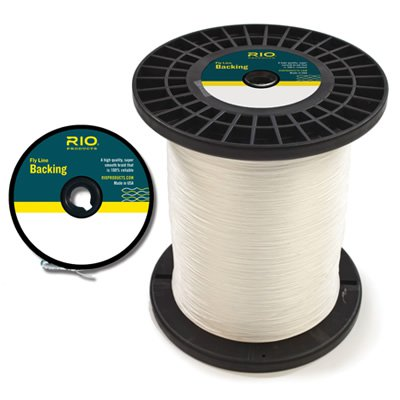 Rio fly line backing glasgow angling centre for Fly fishing backing