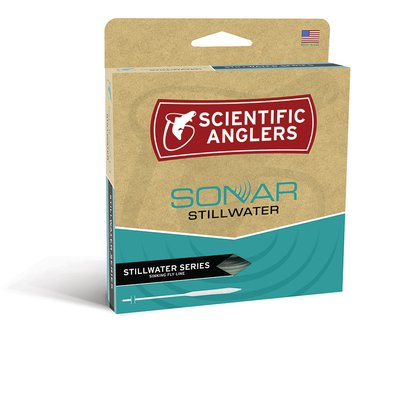Scientific Anglers Sonar Stillwater Clear Tip Midge Orange/Light Olive/Clear