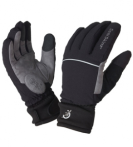 Sealskinz extra cold weather glove black glasgow angling for Cold weather fishing gloves