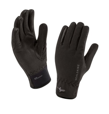 Sealskinz Ladies Sea Leopard Glove Black