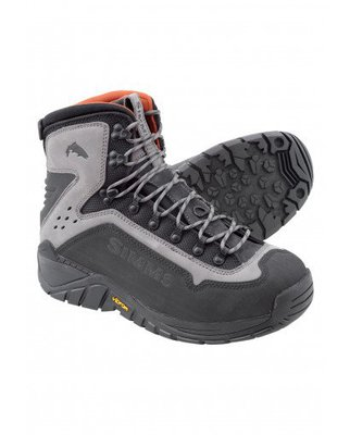 Simms 2018 G3 Guide Vibram Sole Wading Boots Steel Grey