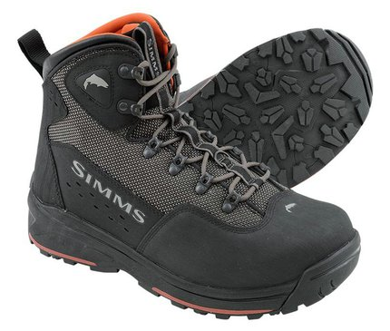 Simms Headwaters Vibram Sole Wading Boots Gunmetal