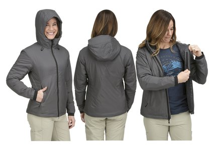 Simms Womens MidCurrent Hooded Jacket