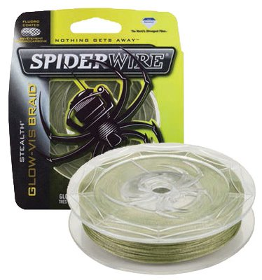 Spiderwire Stealth Glo-Vis Green