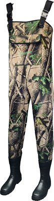 Stillwater Camo Neoprene Chest Bootfoot Waders