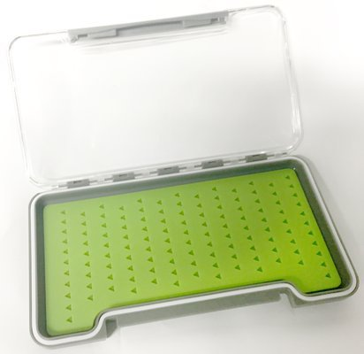 Stillwater Clearview Slim EVO Green Silicone Fly Box