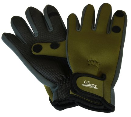 Stillwater neoprene gloves glasgow angling centre for Neoprene fishing gloves