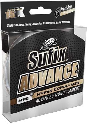 Sufix Advance Monofilament 150m Spools