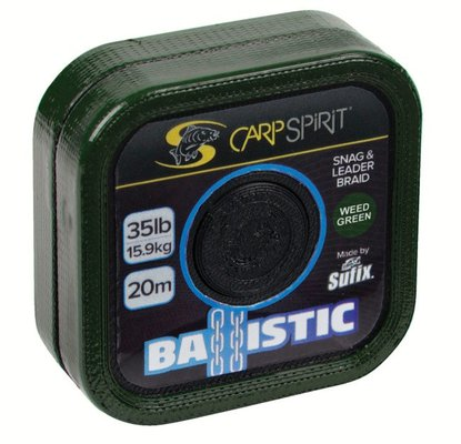 Carp Spirit Ballistic Braided Leader 20m