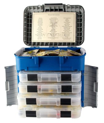 Veniard pinnacle fly tying kit glasgow angling centre for Fly fishing tying kit