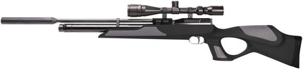 Weihrauch HW100 Black/Grey Synthetic Stock Air Rifle