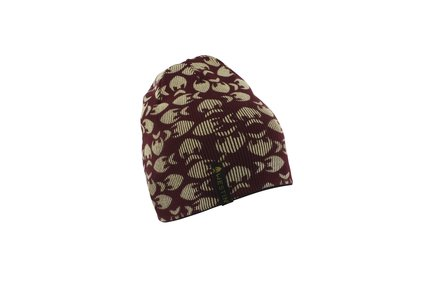 Westin Reversible Beanie Black/Oxblood