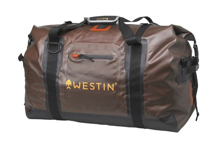 Westin W6 Roll-Top Duffelbag Grizzly Brown/Black