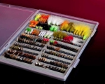 Storafly Fly Box and 200 Assorted Flies