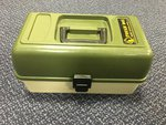 Preloved Ace Angling Tough Box 3 Drawer Cantilever Tackle Box - Used