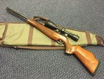 Preloved Air Arms TX200 Beech .22 Air Rifle with Scope and Bag - Used