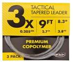 Airflo HT Tactical Tapered Leader 9ft 3 Pack