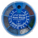 Anchor 6 Division Round Pole Rubber Dispenser