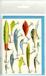 Angling Knots Andy Steer Greetings Cards Hard Lures