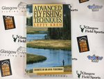 Preloved Book Advanced Fly Fishing Techniques - Lefty Kreh - Used