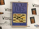 Preloved Book Trout Flies in New Zealand - Keith Draper - Used