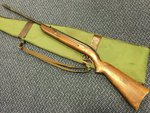 Preloved BSA Airsporter MKI .22 Air Rifle (Early G Prefix 1948-54) with Bag - Used