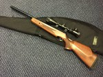Preloved BSA Lightning XL .22 Air Rifle with Scope and Bag - Excellent