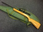 Preloved BSA Mercury .22 Air Rifle with Scope and Bag - Used