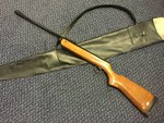 Preloved BSA Super Meteor MKV .22 Air Rifle (TH Prefix 1979-93) with Bag - Used