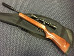 Preloved BSA Supersport .177 Air Rifle with Scope Silencer and Bag - Used