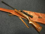 Preloved BSA Supersport MKII .22 Air Rifle with Scope and Silencer - Used