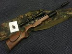 Preloved BSA SuperTen .22 FAC Air Rifle (25ft/lb) with Scope Silencer and Bag - Excellent