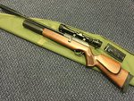 Preloved BSA SuperTen mk2 .22 Air Rifle with Scope Silencer and Bag - Excellent