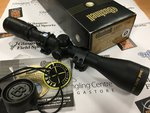 Preloved Bushnell Elite 3200 3-9x40 Rifle Scope Firefly Reticle with Sportsmatch Mounts (Boxed) - Excellent