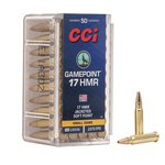 CCI .17 HMR 20 Grain Game Point (50 Box)