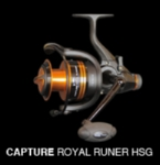 Cinnetic Capture Royal Runner 6500 HSG Reel +S/S