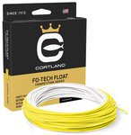 Cortland Competition Fo-Tech Floating Fly Lines - White/Yellow