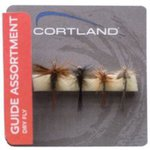 Cortland Guide Assortment Dry Flies 4pc