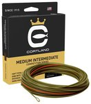 Cortland Competition Medium Intermediate Fly Lines - Olive