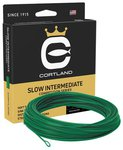 Cortland Competition Slow Intermediate Fly Lines  - Green