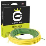 Cortland Trout Boss Taper Green/Yellow Floating Fly Lines
