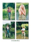 Country Cards Fishing Girls Greetings Card