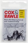 Cox & Rawle Brass Ball Bearing Swivel with Coastlock
